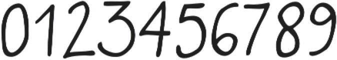 Quaderno Bianco otf (400) Font OTHER CHARS
