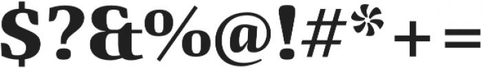 Quador otf (700) Font OTHER CHARS