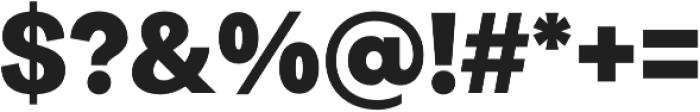 Quadra Black otf (900) Font OTHER CHARS