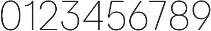 Quadra ExtraLight otf (200) Font OTHER CHARS