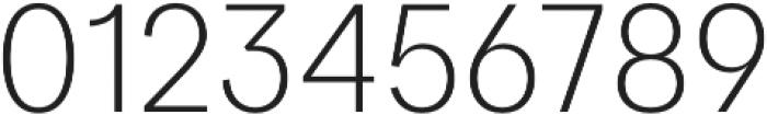 Quadra Light otf (300) Font OTHER CHARS