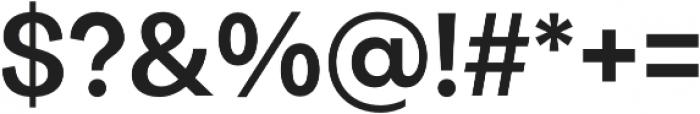 Quadra otf (700) Font OTHER CHARS