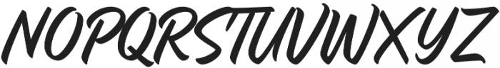 Quadrone otf (400) Font UPPERCASE