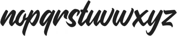 Quadrone otf (400) Font LOWERCASE