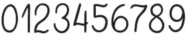 QuaintGarden Regular otf (400) Font OTHER CHARS