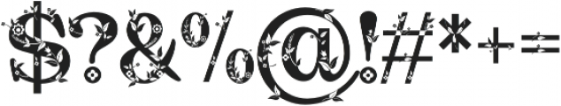 Quality Decor otf (400) Font OTHER CHARS
