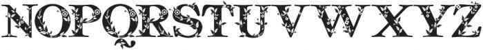 Quality Decor otf (400) Font UPPERCASE