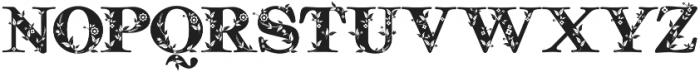 Quality Decor otf (400) Font LOWERCASE