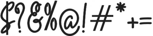 Quality Signature otf (400) Font OTHER CHARS