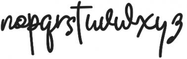 Quality Signature otf (400) Font LOWERCASE