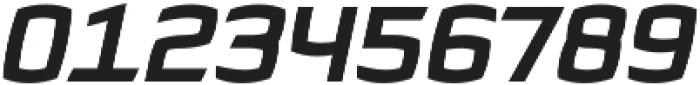 Quam Bold Italic otf (700) Font OTHER CHARS