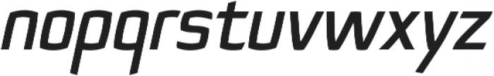Quam Bold Italic otf (700) Font LOWERCASE
