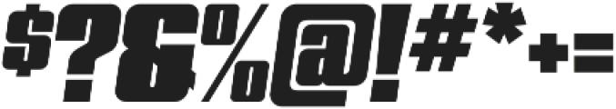 Quandor Ultra Oblique otf (900) Font OTHER CHARS