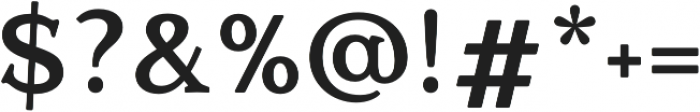 Quantik Bold otf (700) Font OTHER CHARS