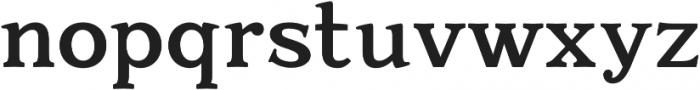 Quantik Bold otf (700) Font LOWERCASE