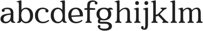 Quantik otf (400) Font LOWERCASE