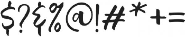 Quantum Alt ttf (400) Font OTHER CHARS