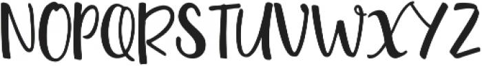 Quantum Alt ttf (400) Font UPPERCASE