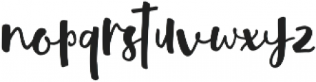 Quantum Alt ttf (400) Font LOWERCASE