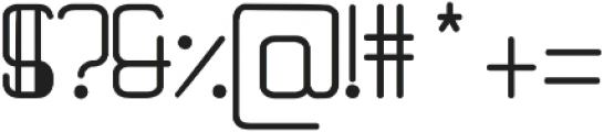Quantum otf (400) Font OTHER CHARS