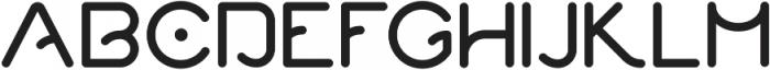 Quantum ttf (700) Font UPPERCASE