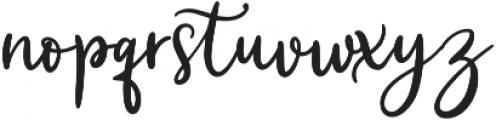 Quantylus otf (400) Font LOWERCASE