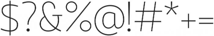 Quark otf (400) Font OTHER CHARS