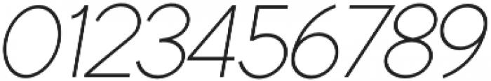 Quartz Grotesque Oblique otf (400) Font OTHER CHARS