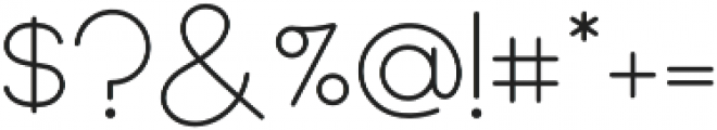 Quartz Grotesque Rounded otf (400) Font OTHER CHARS