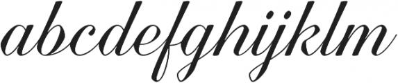 Quarzo Regular otf (400) Font LOWERCASE