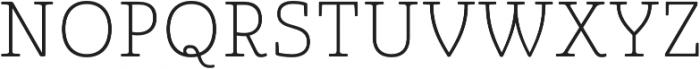 Quatie otf (100) Font UPPERCASE