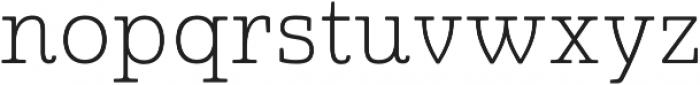 Quatie otf (100) Font LOWERCASE