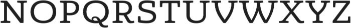 Quatie otf (500) Font UPPERCASE