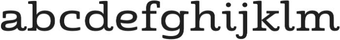 Quatie otf (500) Font LOWERCASE
