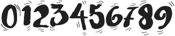 Quaver otf (400) Font OTHER CHARS