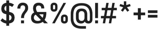 Quay Five otf (400) Font OTHER CHARS