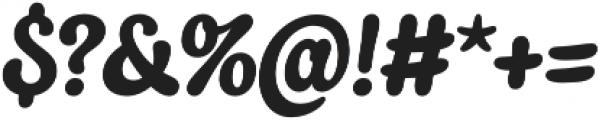 Quayside otf (400) Font OTHER CHARS