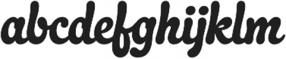 Quayside otf (400) Font LOWERCASE
