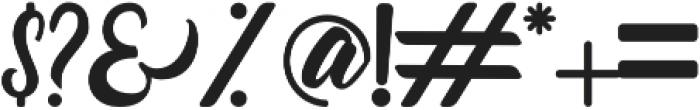 Quazy otf (400) Font OTHER CHARS