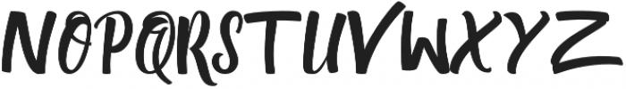 Quazy otf (400) Font UPPERCASE
