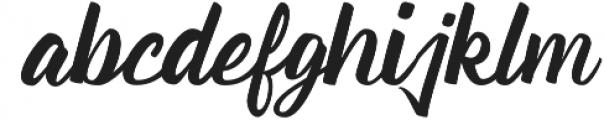 Quazy otf (400) Font LOWERCASE
