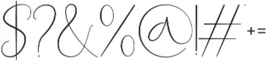 Queen Billqis Script otf (400) Font OTHER CHARS