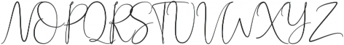 Queen Billqis Script otf (400) Font UPPERCASE