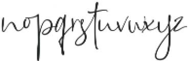 Queen Billqis Script otf (400) Font LOWERCASE