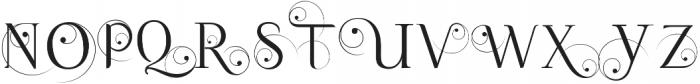 Queen Caps otf (400) Font LOWERCASE