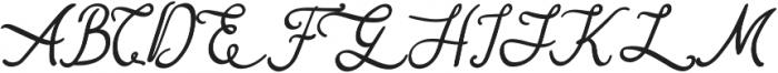 Queen Elena ttf (400) Font UPPERCASE