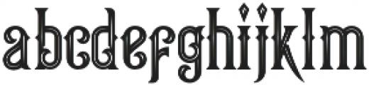 Queen Victoria Inine Swash otf (400) Font LOWERCASE