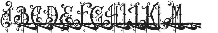Queen Victoria Swash otf (400) Font UPPERCASE