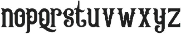 Queen Victoria Swash otf (400) Font LOWERCASE