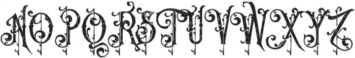 Queen Victoria Vintage otf (400) Font UPPERCASE